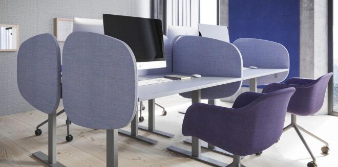 bordsskärm desk screen office furniture kontorsmöbler ljudabsorbent sound absorbent