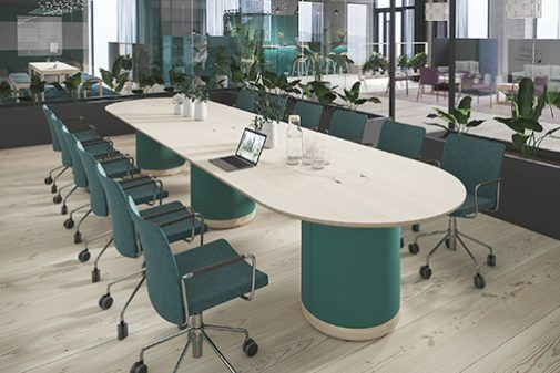 conference table konferensbord office furniture kontorsmöbler ljudabsorbent sound absorbent